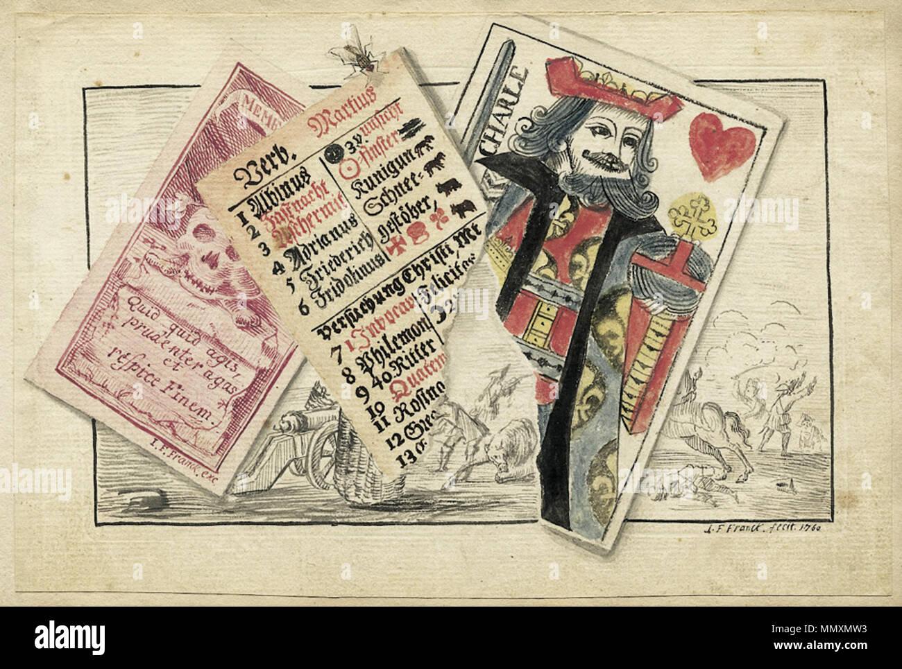 Datierung von Spielkarten