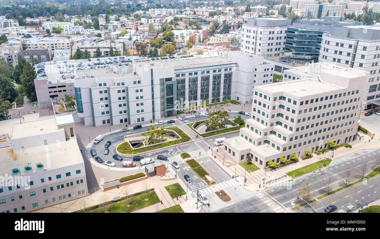 Children's Health Center, UCLA Medical Plaza, Universität von Kalifornien in Los Angeles, Kalifornien Stockfoto