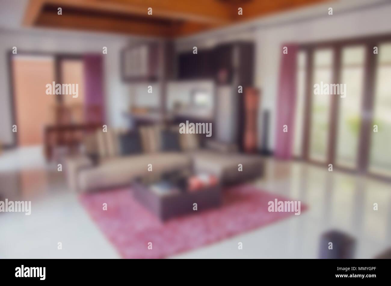 Excellent Blur Abstrakte Wohnzimmer Dekoration Interieur Fr Hintergrund  Stockbild With Wohnzimmer Bilder Fur Hintergrund