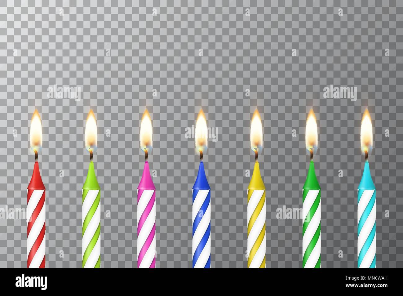 Vector Hintergrund Mit 3d Realistische Verschiedene Geburtstag