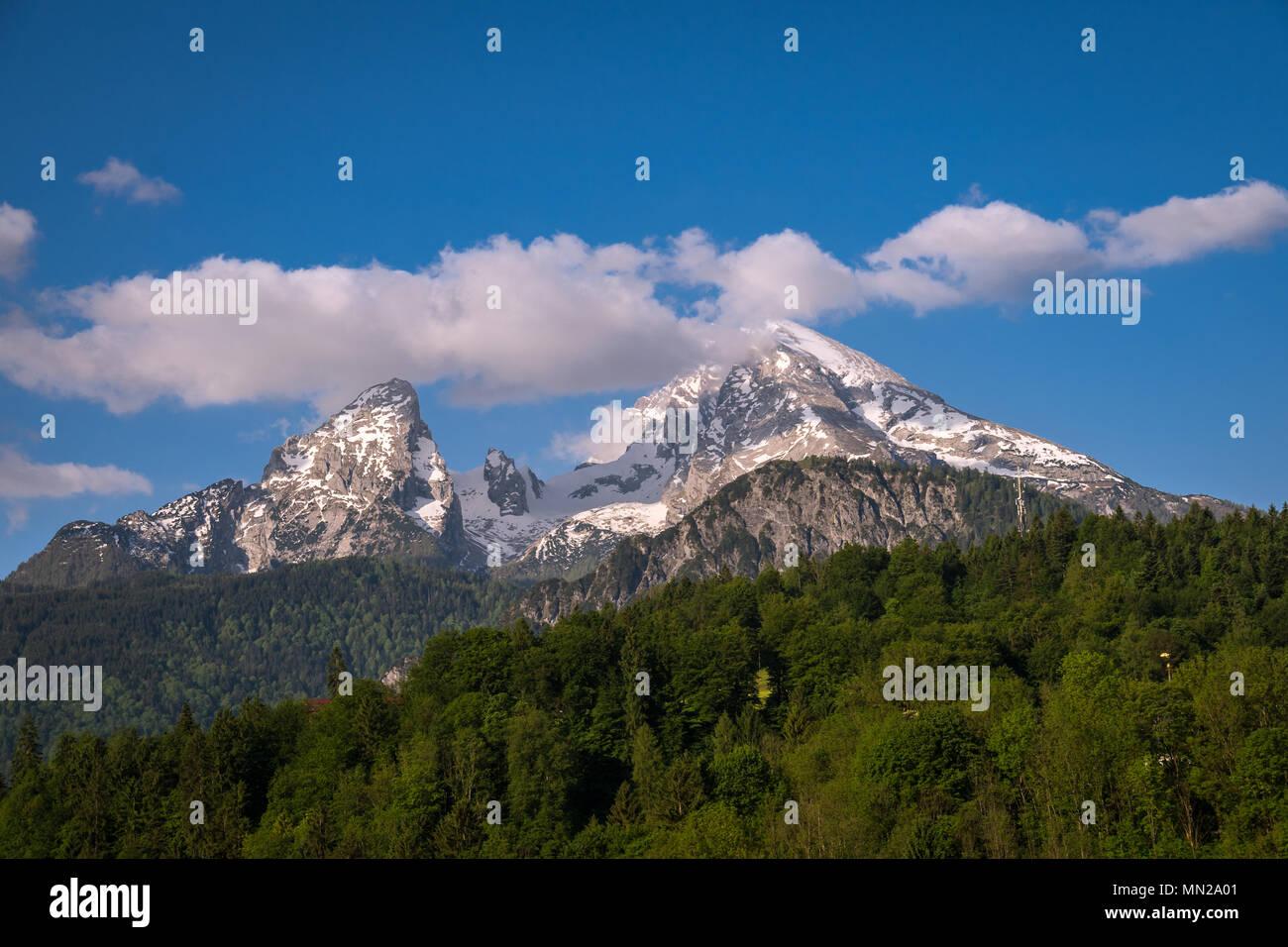 Watzmann Alpen Stockbild