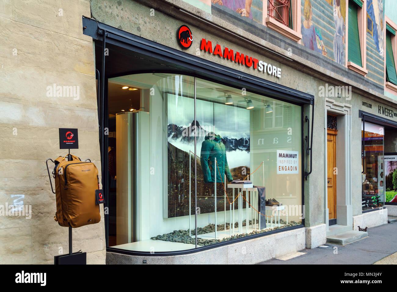 quality design 29cfb 61246 Luzern, Schweiz - Oktober 19, 2017: Shop des bekannten ...