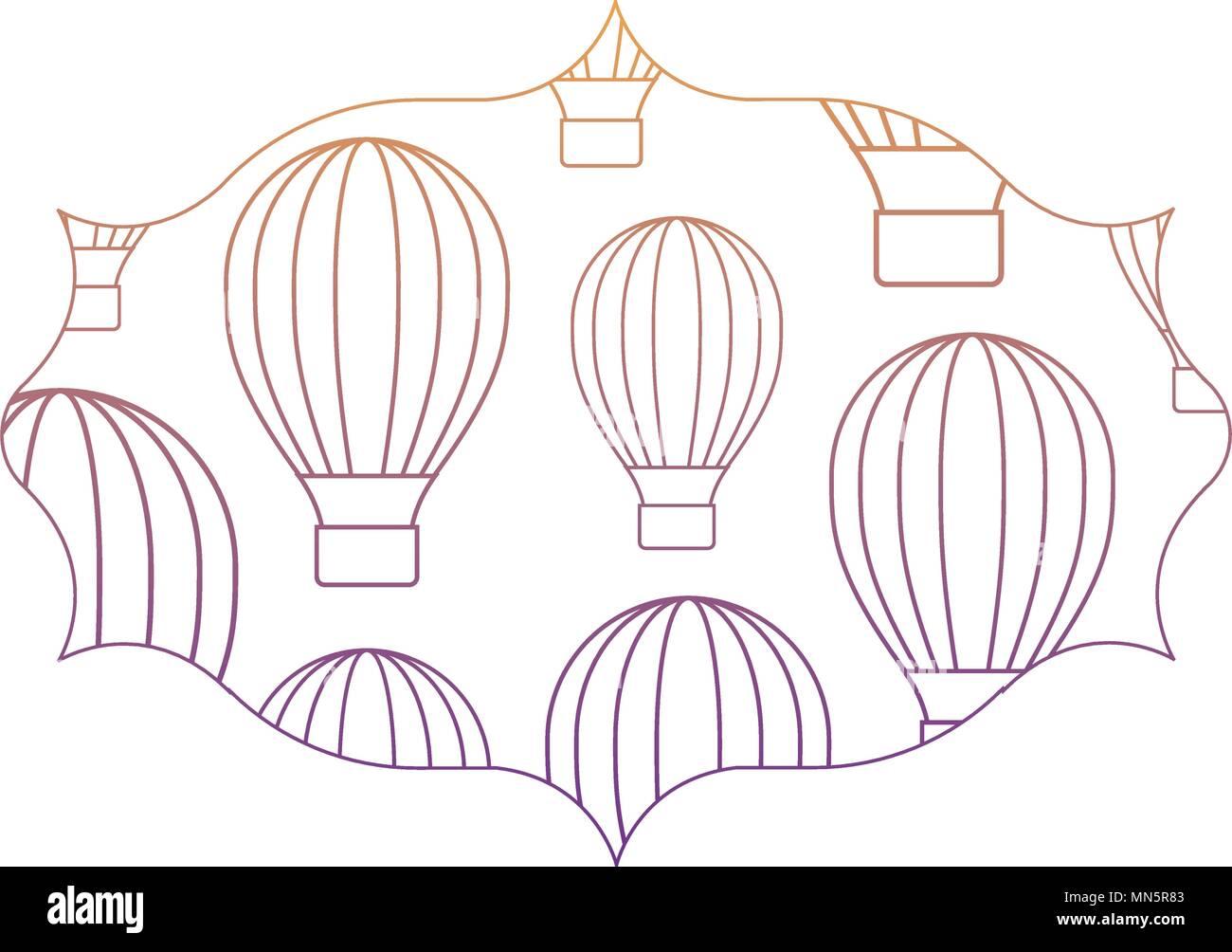 Großartig Ballon Umriss Vorlage Zeitgenössisch - Beispiel Business ...