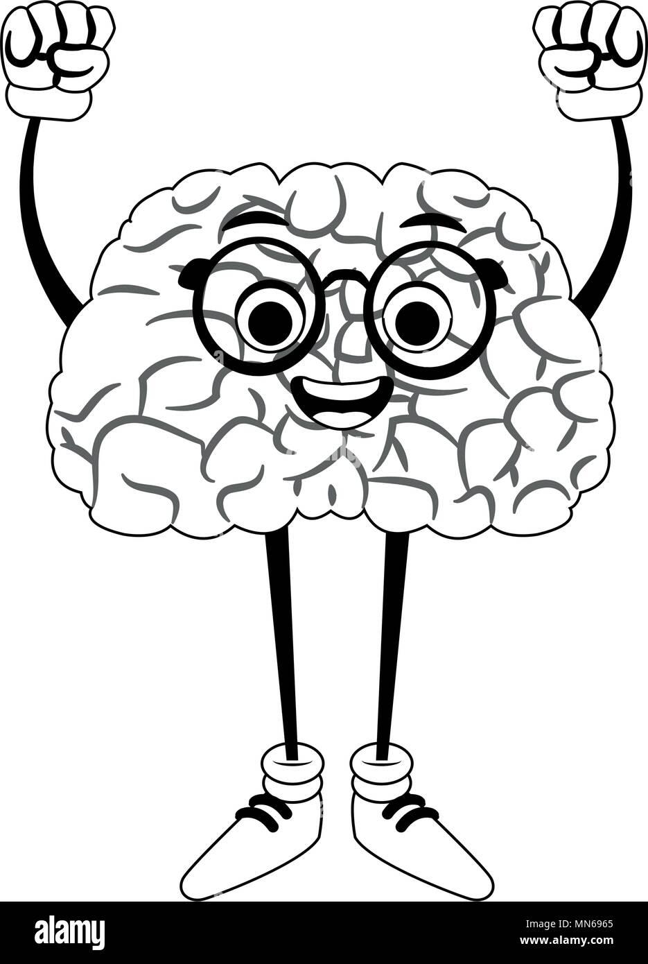 Großzügig Gehirn Färbung Seite Bilder - Malvorlagen Von Tieren ...