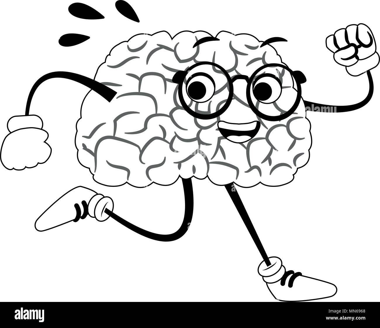 Beste Gehirn Färbung Seite Zeitgenössisch - Druckbare Malvorlagen ...