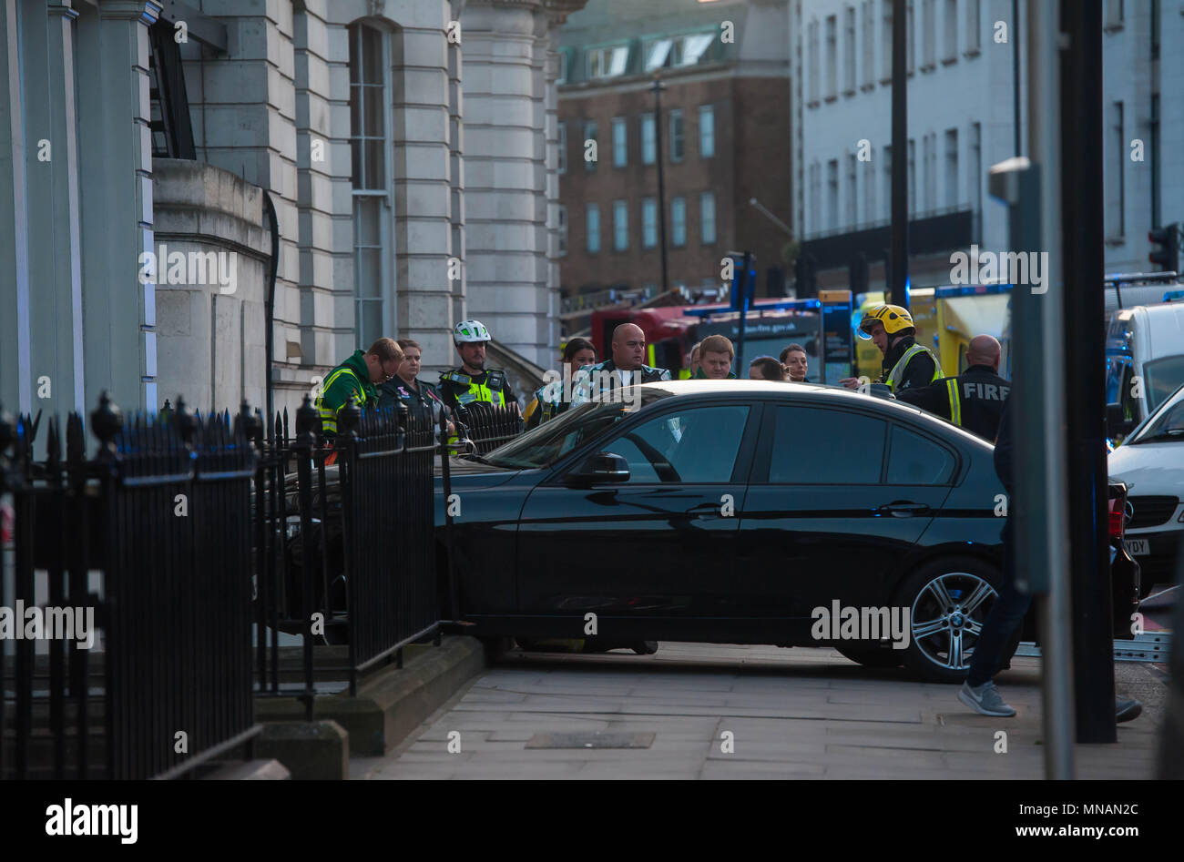 Unmarkiertes Polizeiauto Stockfotos Unmarkiertes Polizeiauto