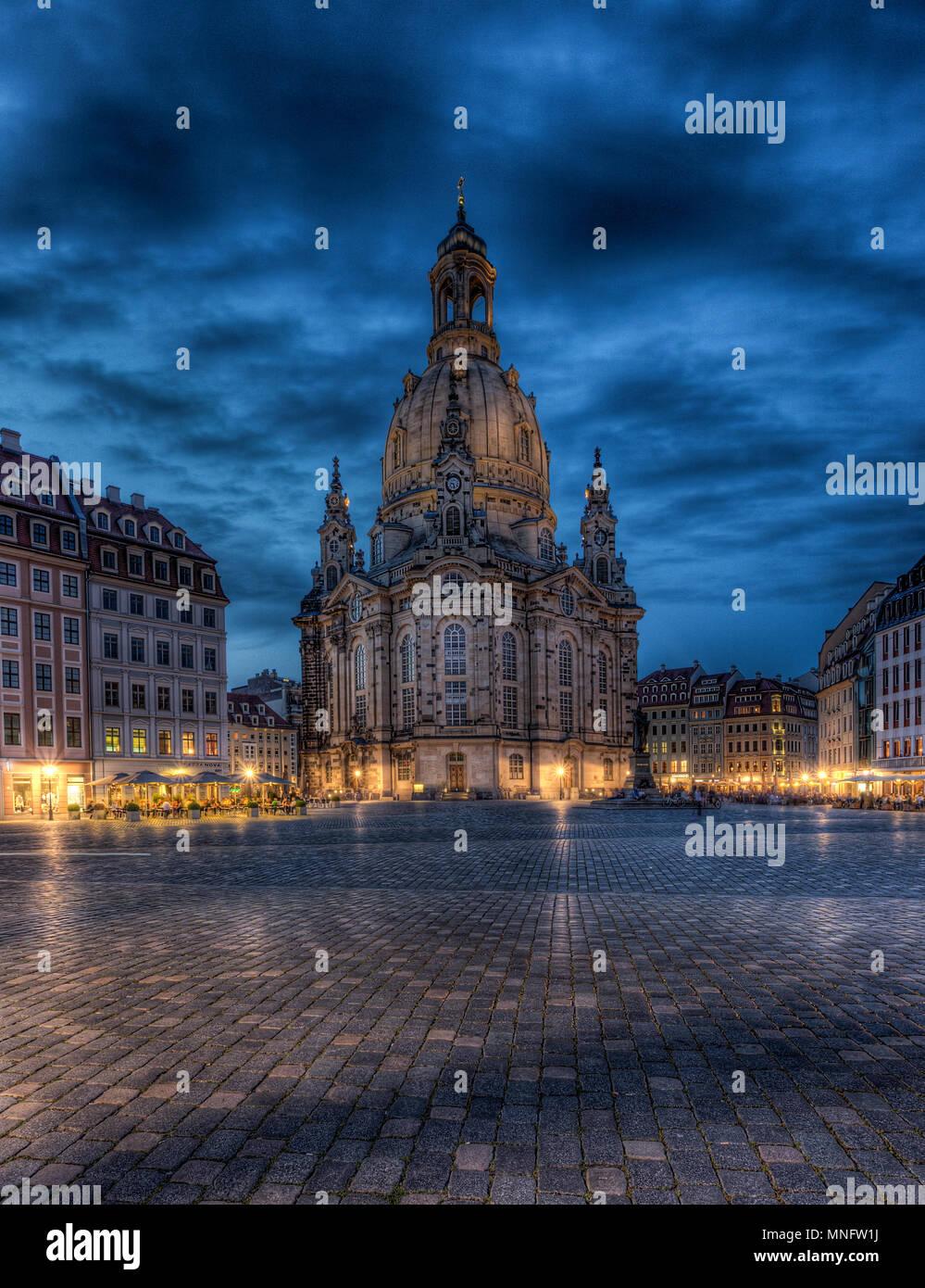 Dresden Stockbild