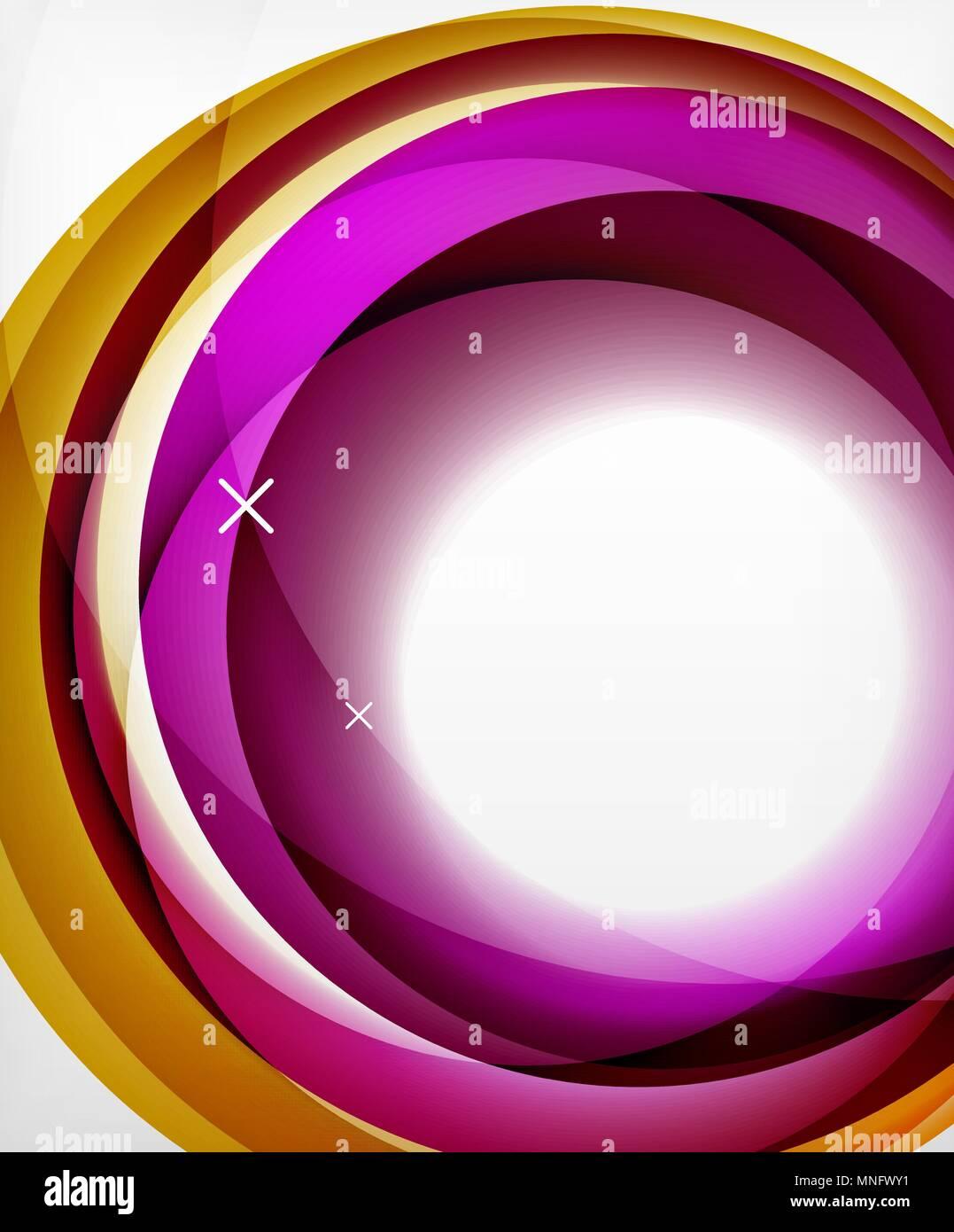 Vektor transparente Farbe wave Linien abstrakt Hintergrund ...