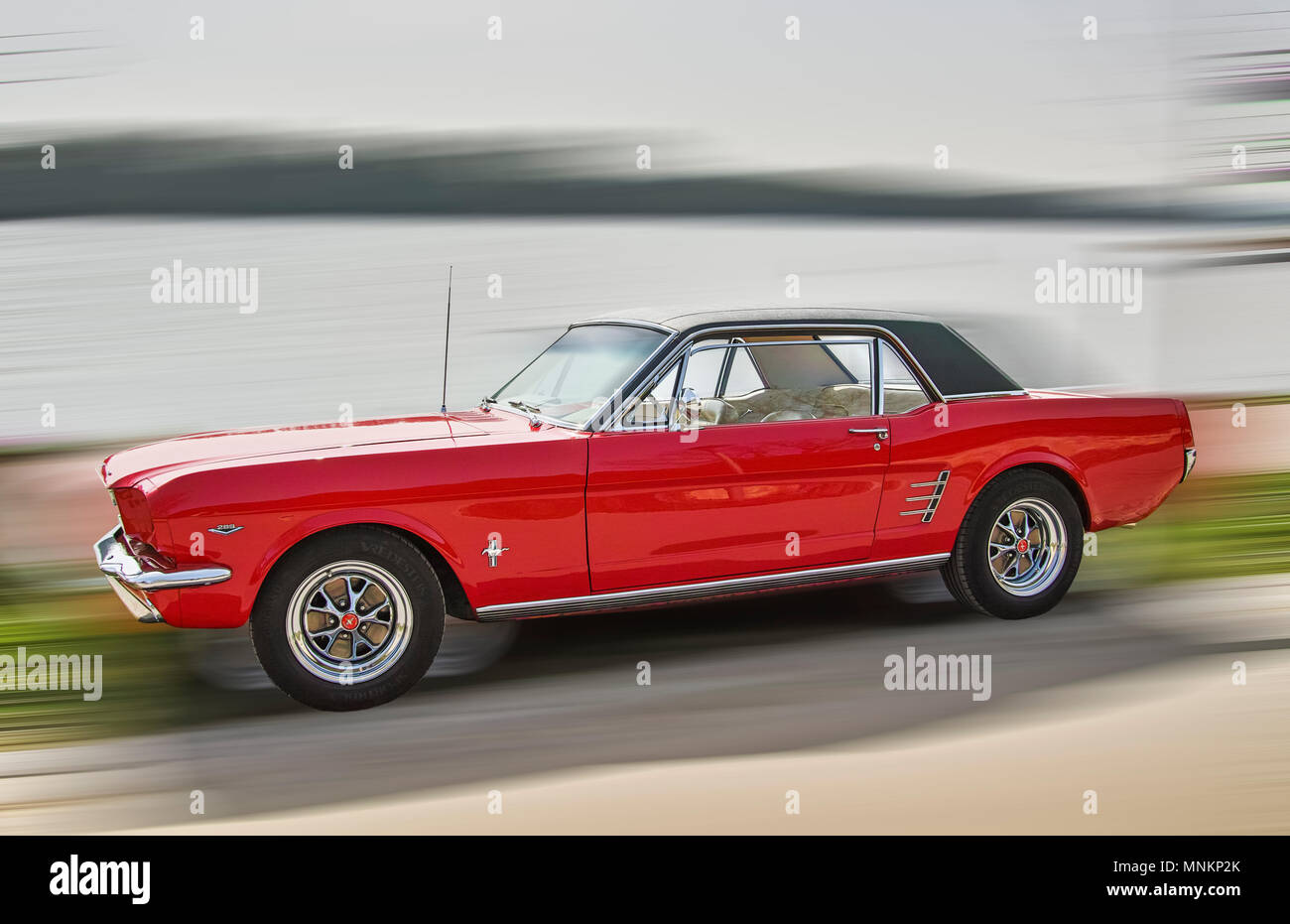 Ford Mustang Stockbild