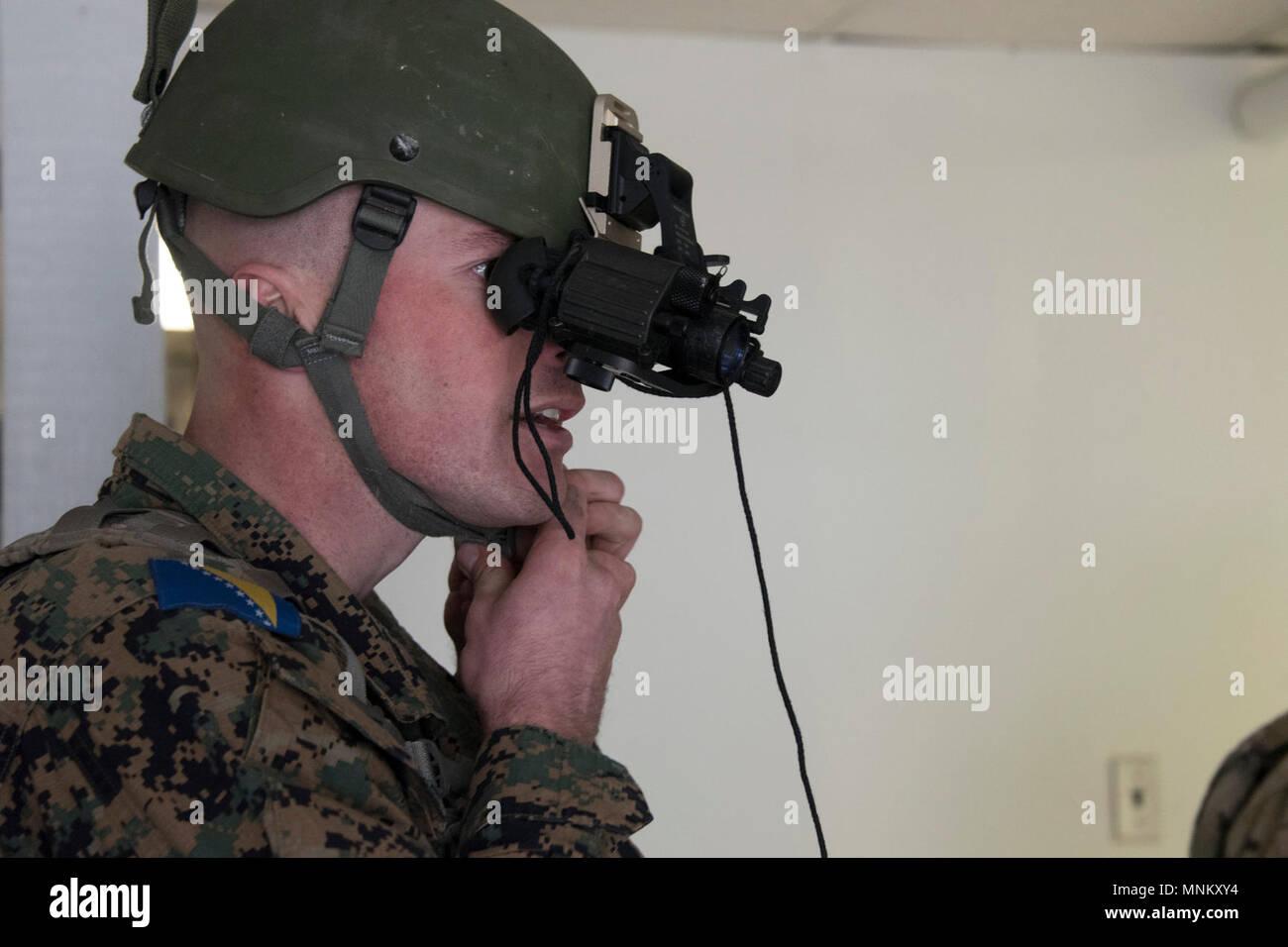 2. lt. marko vidovic streitkräfte von bosnien und herzegowina legt