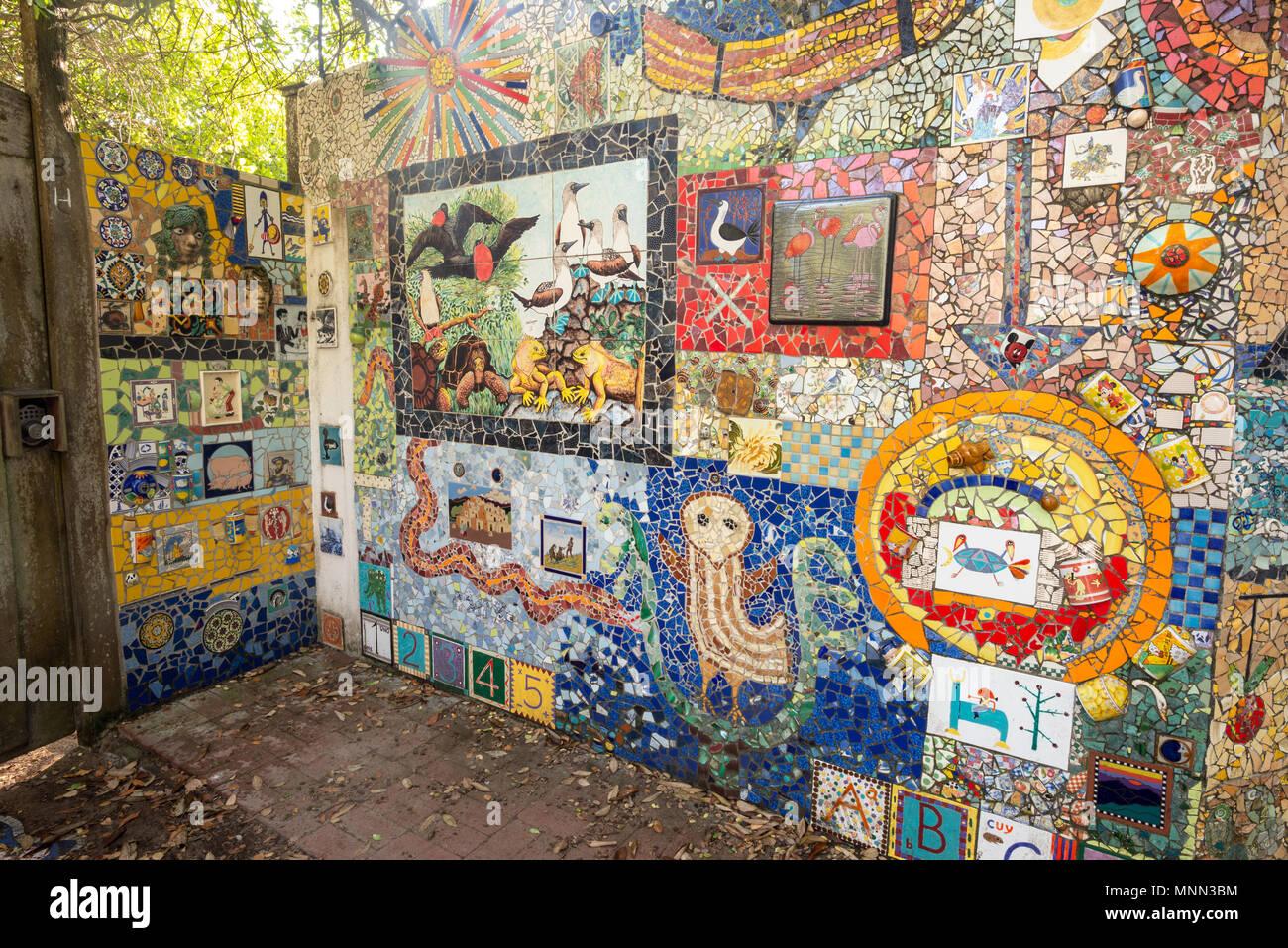 Keramik Kunst Für Den Garten die galápagos-keramik mosaik kunst garten in puerto ayora, isla