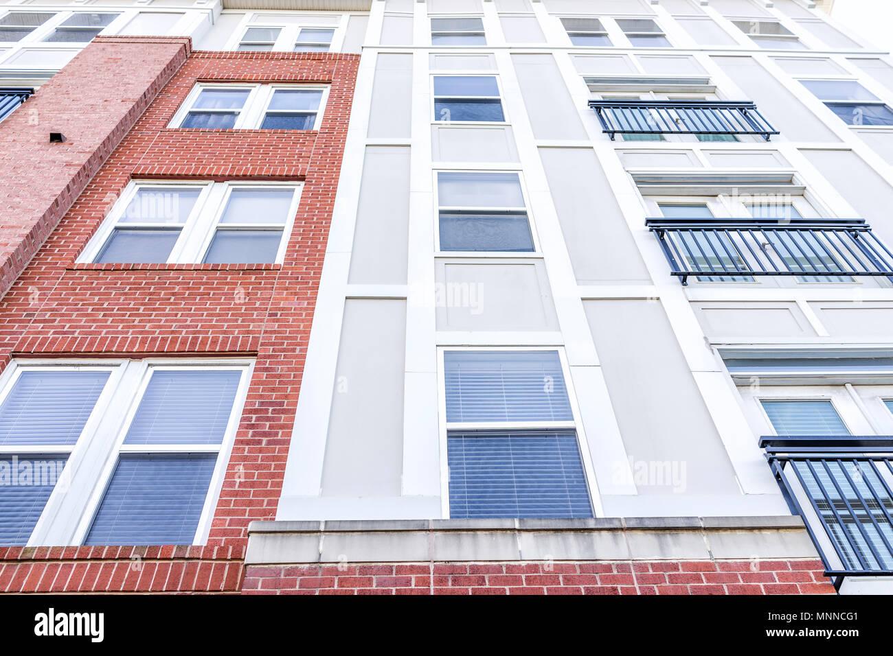 Neubau Aussen Muster Der Wohnung Eigentumswohnung Eigentumswohnungen