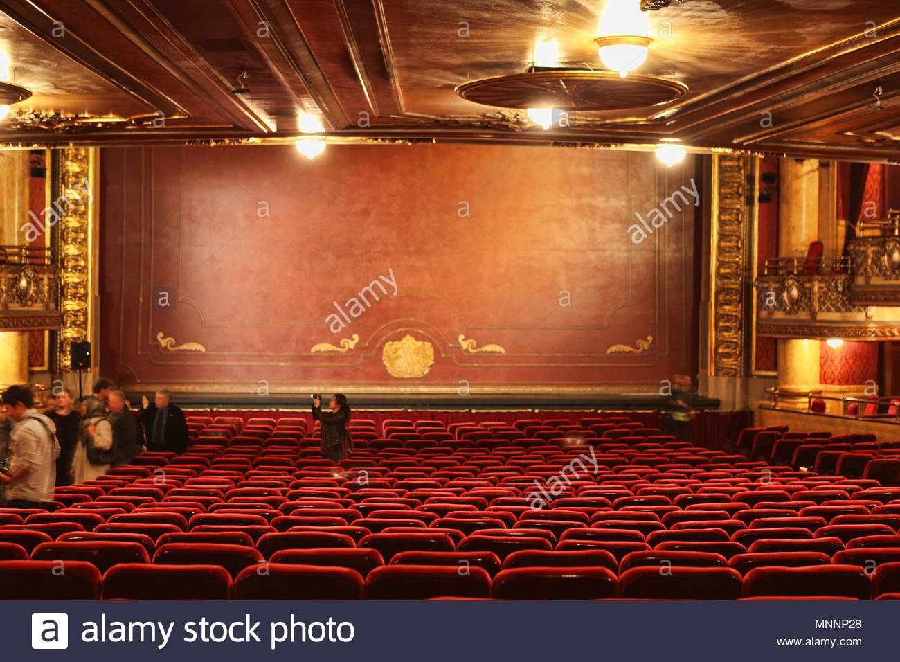 Innenraum Der Historischen Elgin Theater Die Elgin Und Winter
