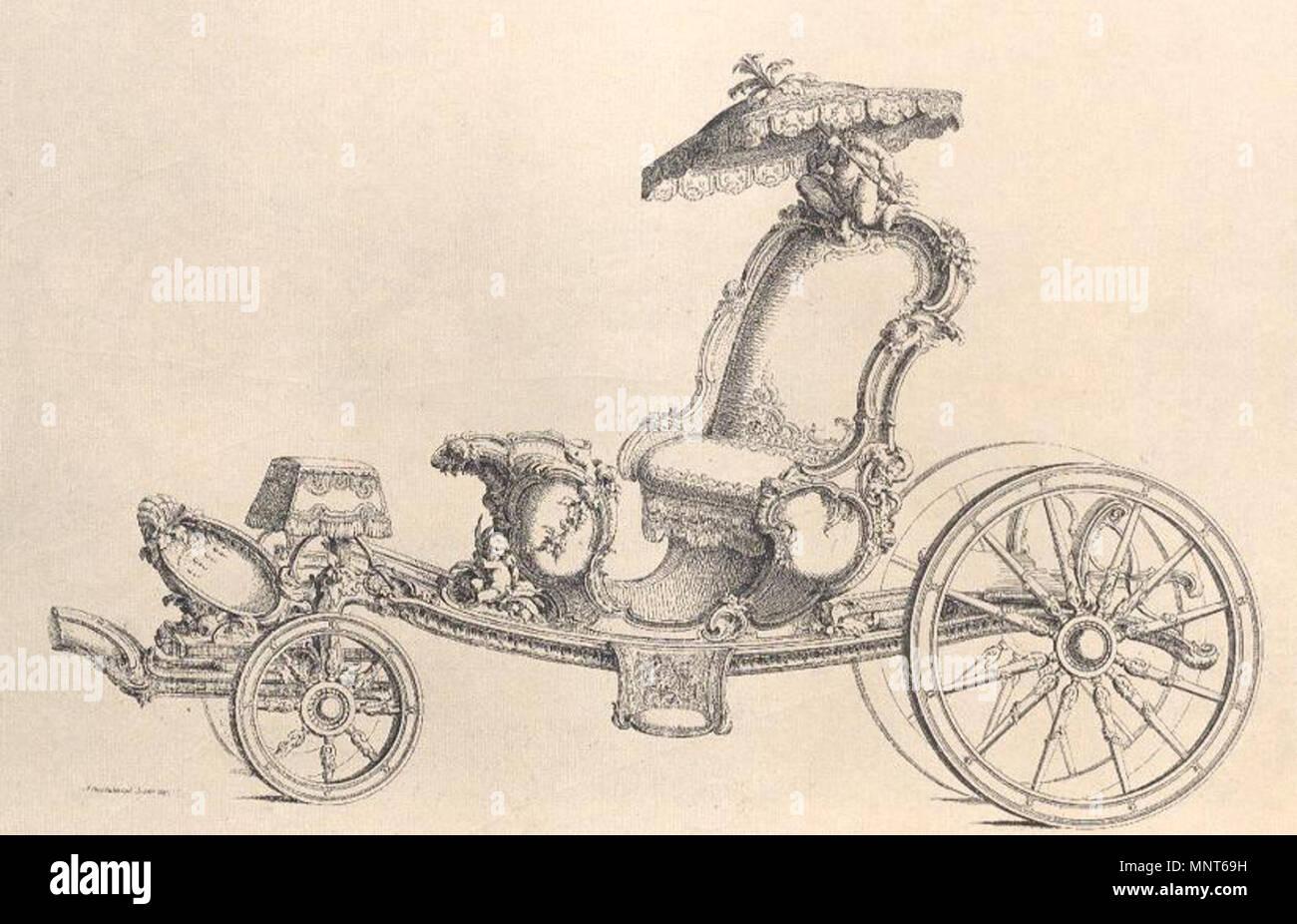 Englisch Phaeton Mit überdachung Entwurf Von Johann Michael
