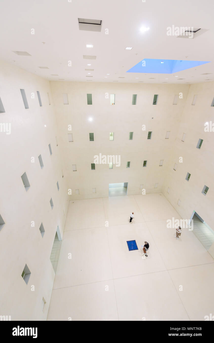 Moderne Offentliche Stadtbibliothek Stuttgart Deutschland Innen