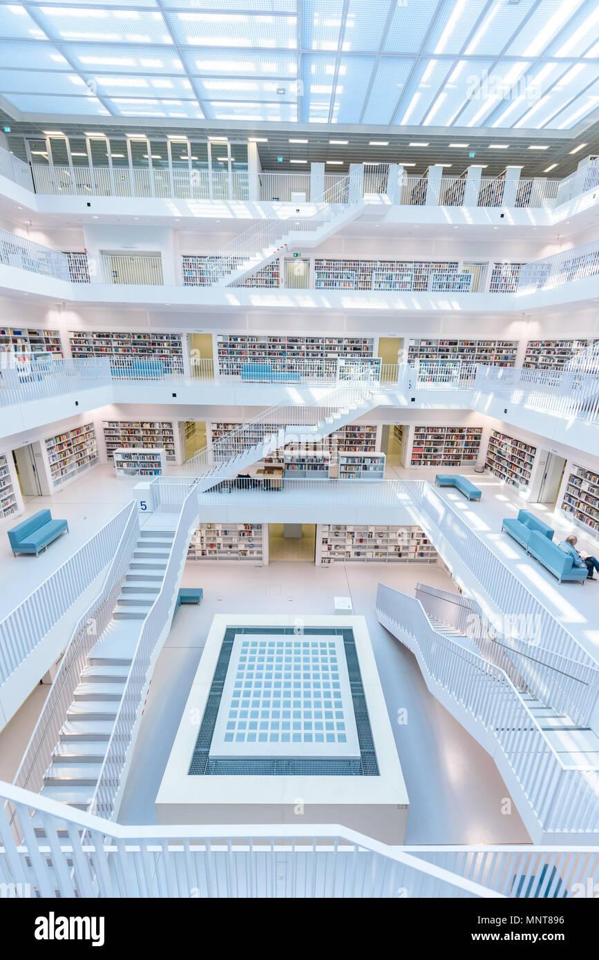 Likeable Schöne Treppen Gallery Of Moderne Öffentliche Stadtbibliothek Stuttgart, Deutschland - Innen