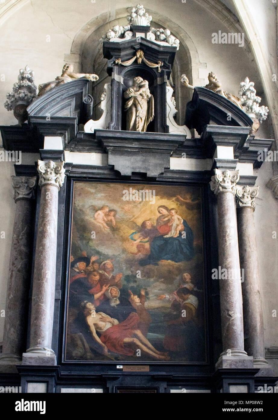 Englisch: Malerei von Theodoor van Thulden in der Sint-Walburgakerk ...