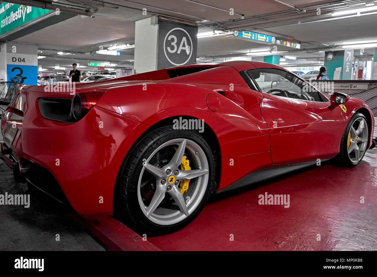 Ferrari 488 Gtb Rot 2017 Stockfotografie Alamy