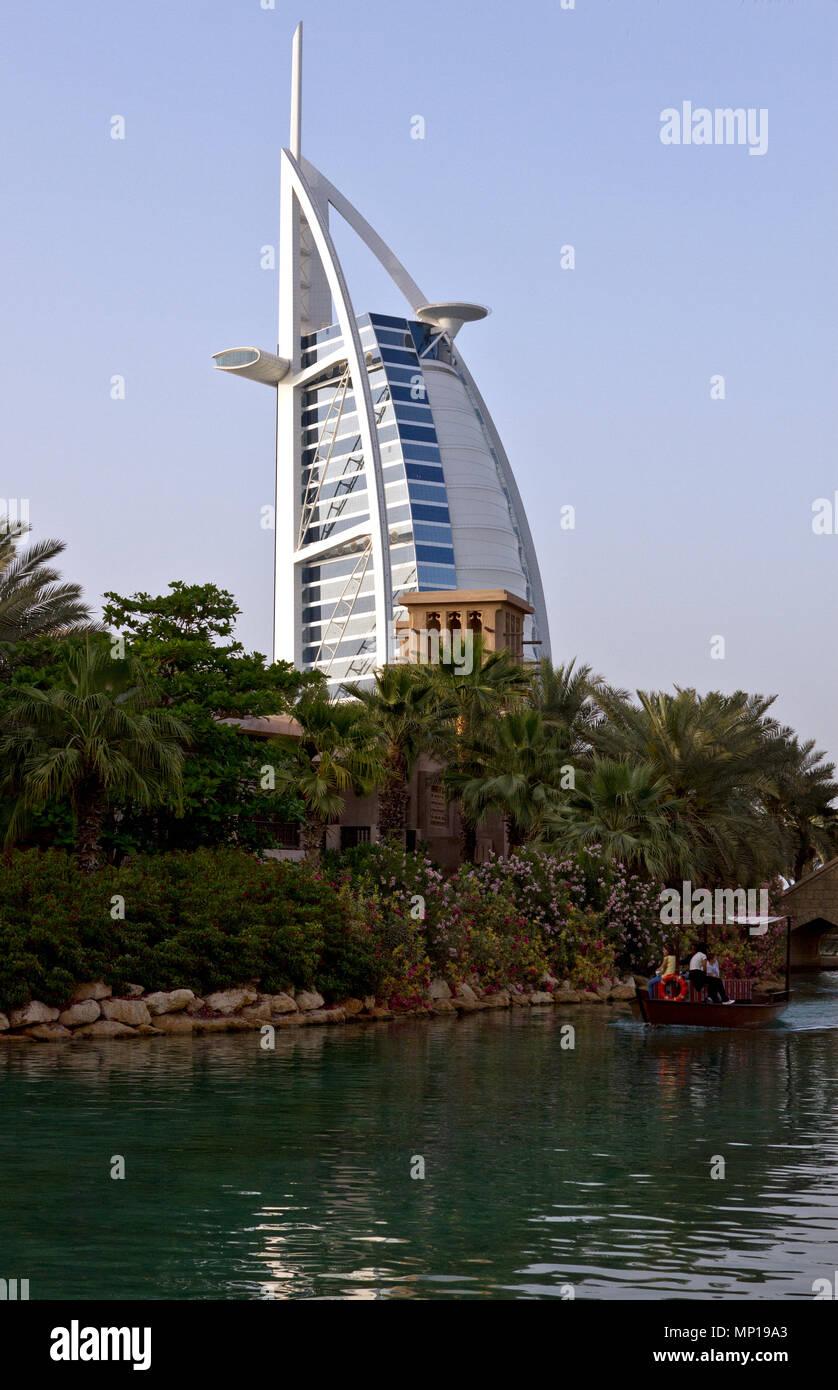Dubai - Burj al Arab. Stockbild