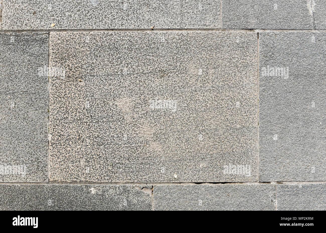 Dreckig Ausserhalb Der Altstadt Terrasse Aus Granit Fliesen Bild Von