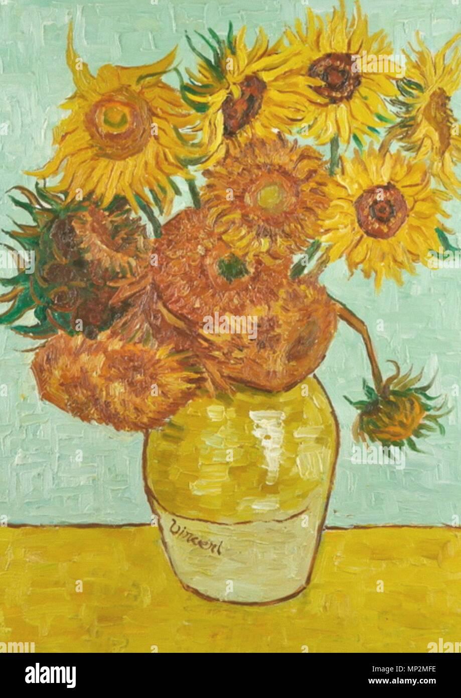 Van Gogh Sonnenblumen Stockfotos Van Gogh Sonnenblumen Bilder Alamy
