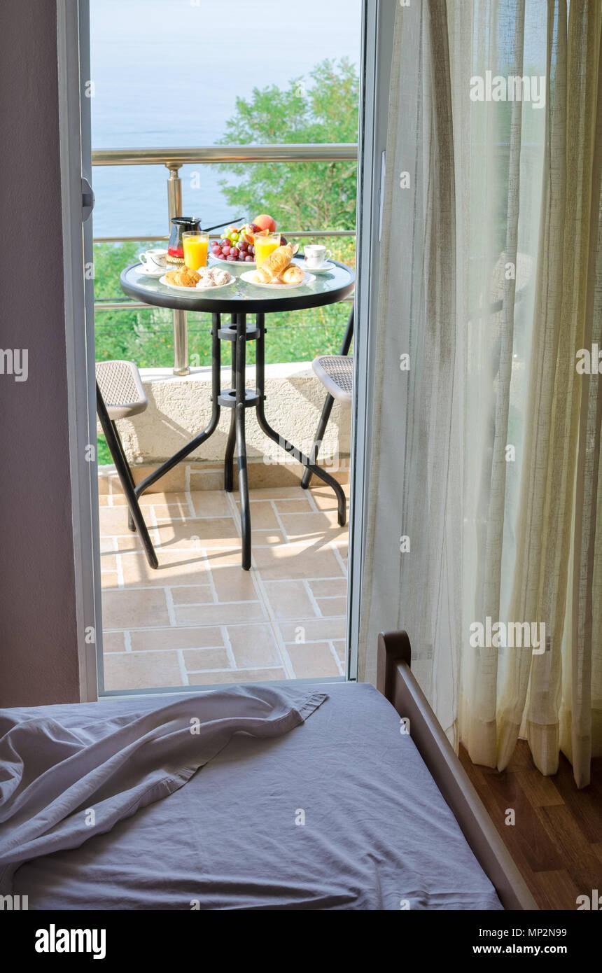 Hotel Zimmer Mit Frische Und Kostliche Fruhstuck Mit Geback Kaffee