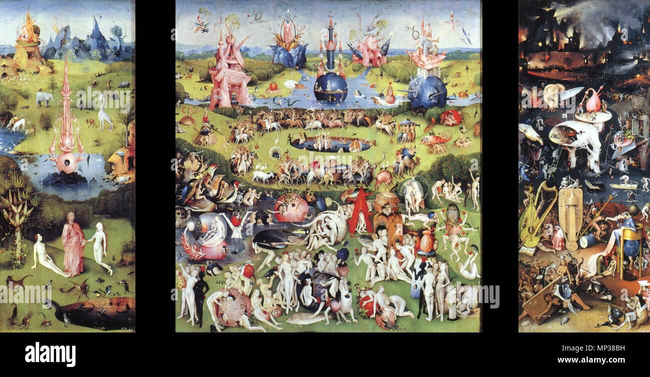 Der Garten Der Lüste Zwischen 1480 Und 1505 1174 Der Garten Der