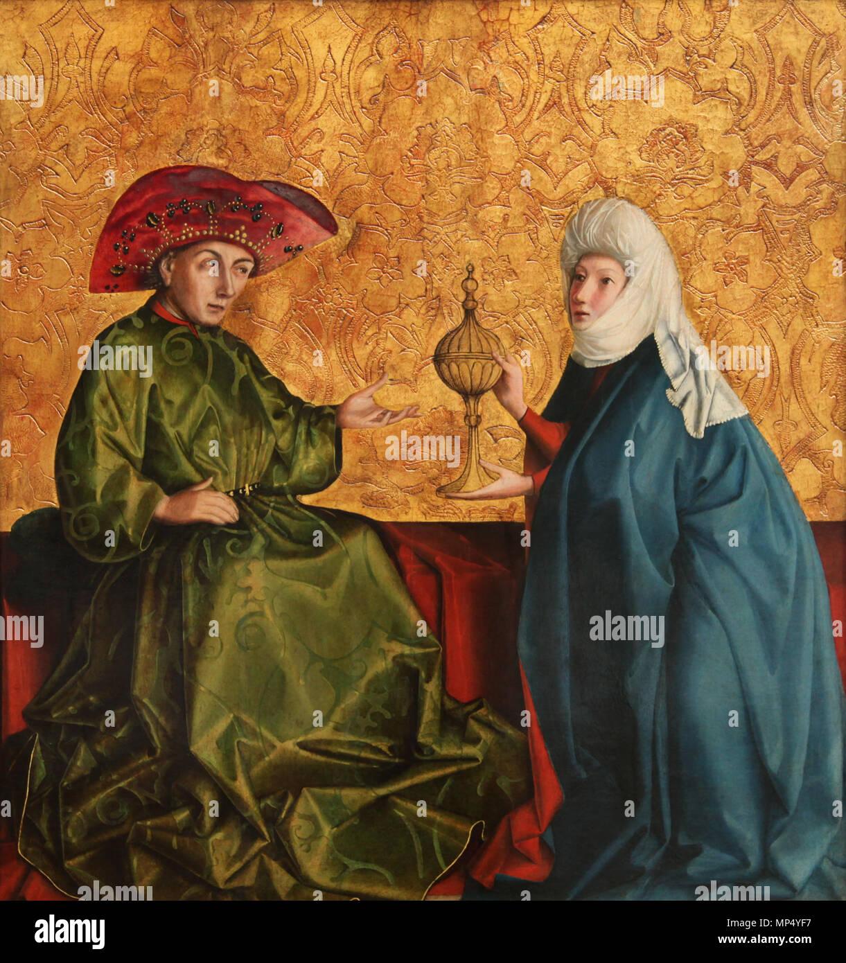 English: Königin von Saba vor König Salomo Englisch Sterben: die ...