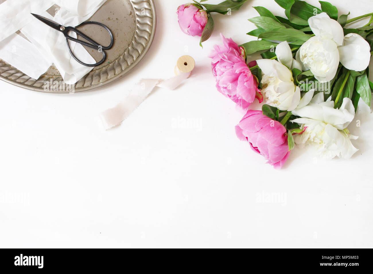Styled Foto Feminine Hochzeit Oder Geburtstag Tabelle Komposition