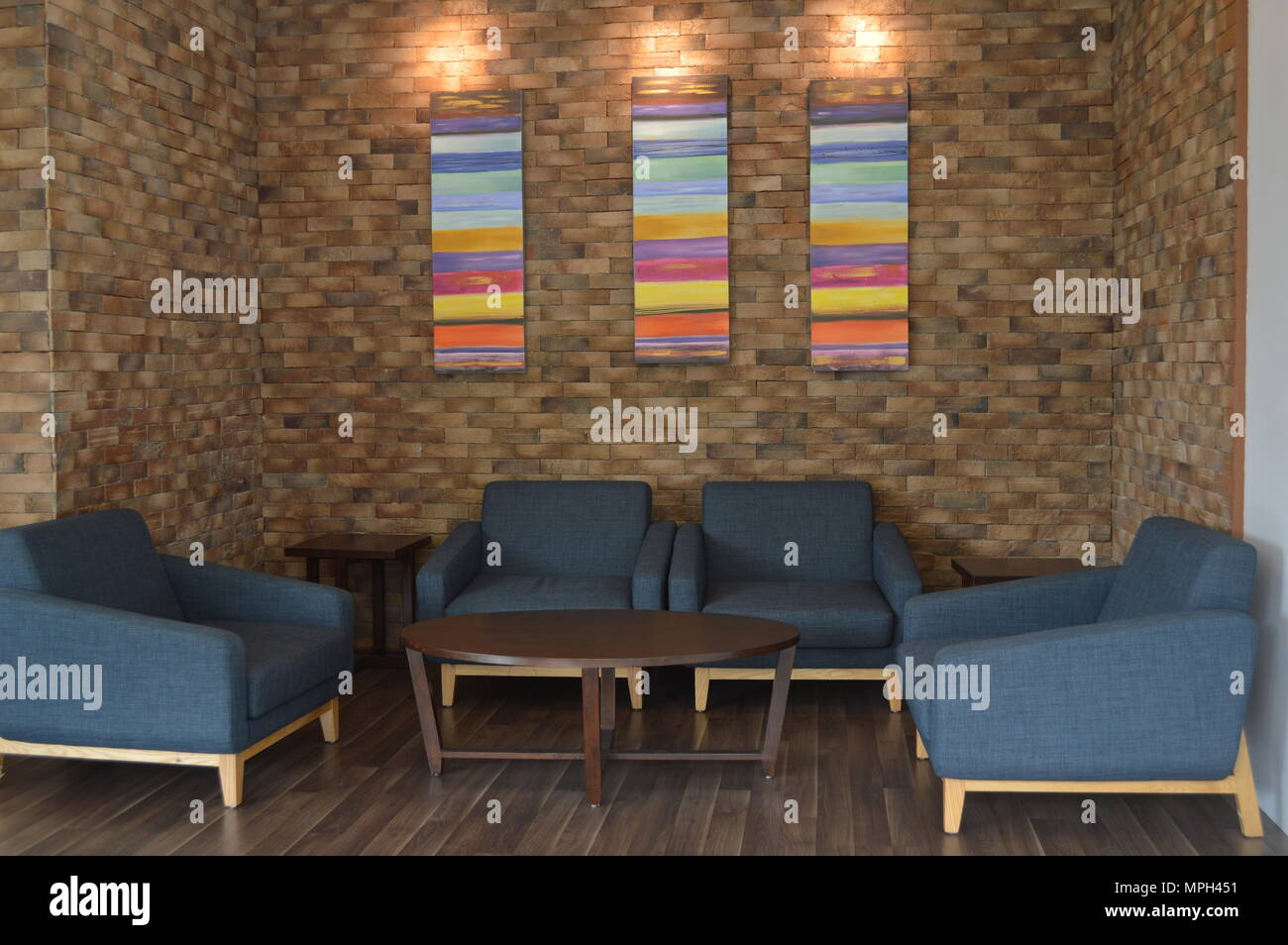 Büro Wohnzimmer Stockfoto, Bild: 186002573 - Alamy