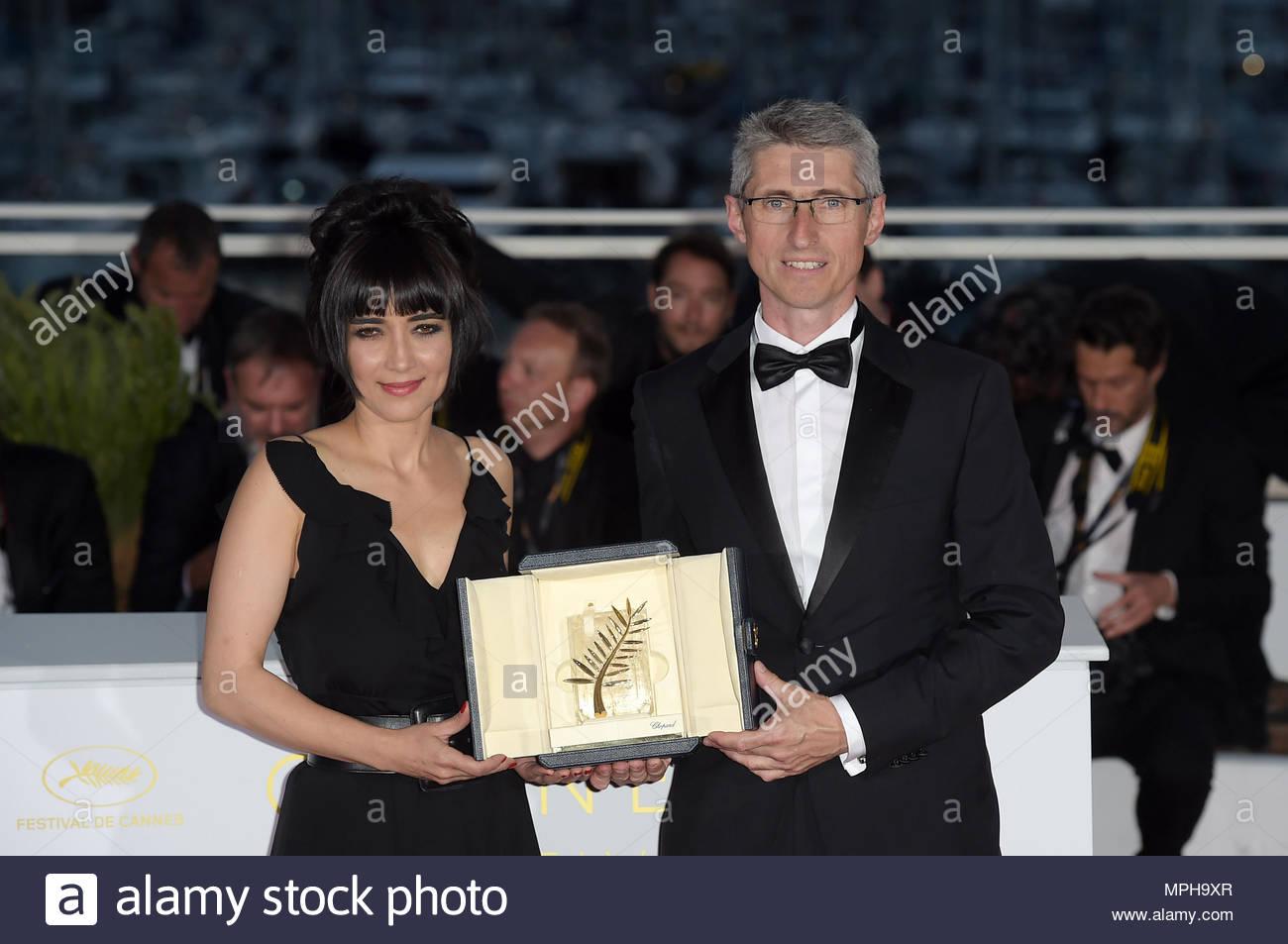 Fabrice Aragno Mitra Farahani Spezielle Palme Dor Award 71st
