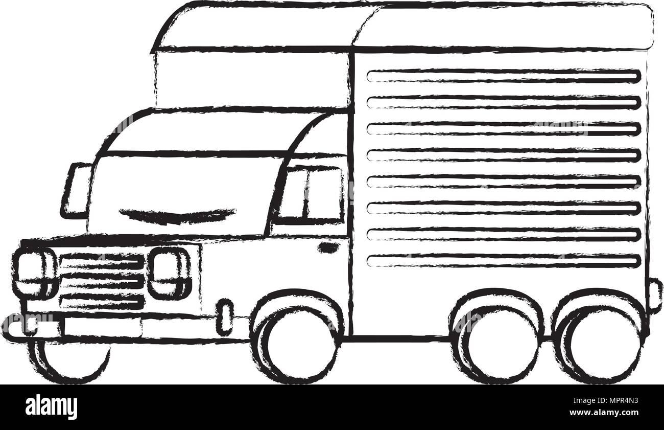 Sign Transportation Illustration Stockfotos & Sign Transportation ...
