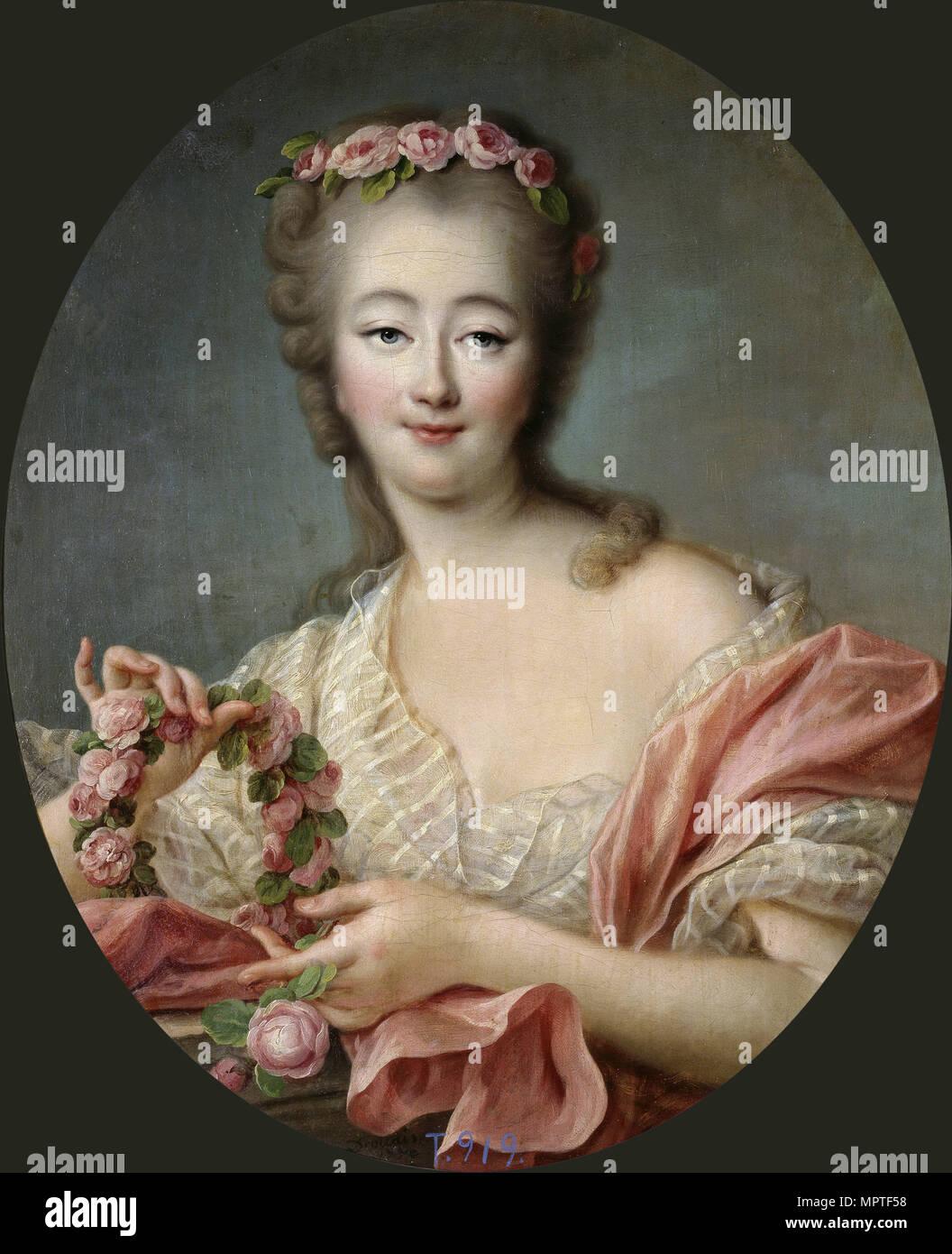 Jeanne Bécu, comtesse du Barry (1743-1793), 1770. Stockbild