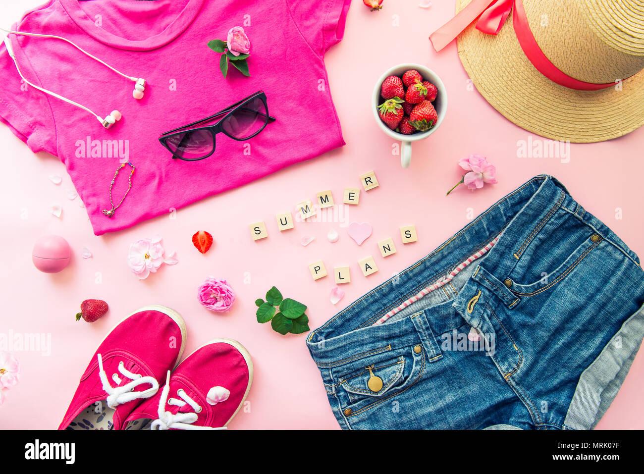 dc80089a342206 Frau Sommer Planung Konzept - Kleidung