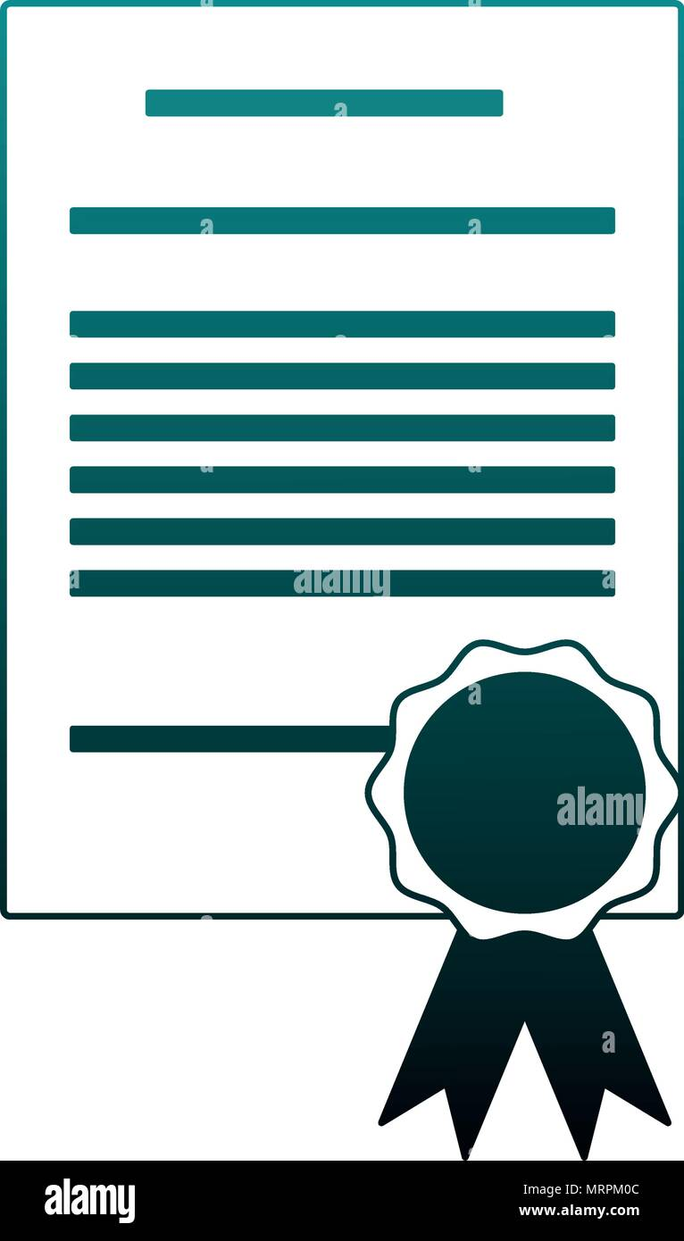 Certificate Achievement Template In Vector Stockfotos & Certificate ...