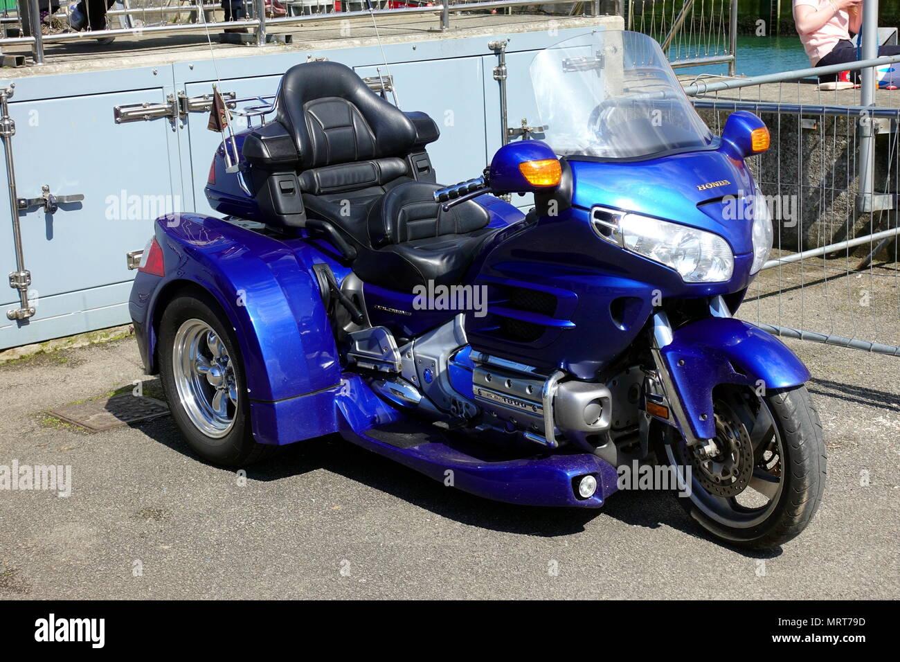 Honda Goldwing Trike Stockfotos Honda Goldwing Trike Bilder Alamy
