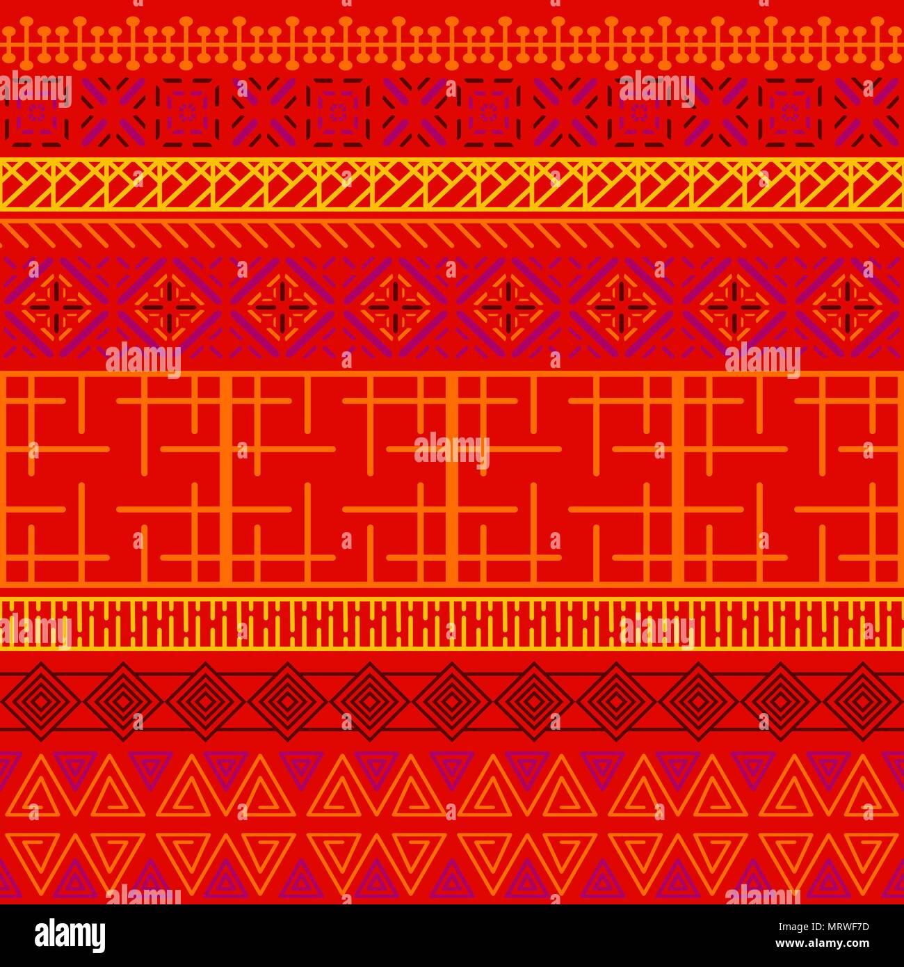 tribal ethnischen nahtlose muster abstrakte geometrische ornamente mit afrikanischen motiven. Black Bedroom Furniture Sets. Home Design Ideas