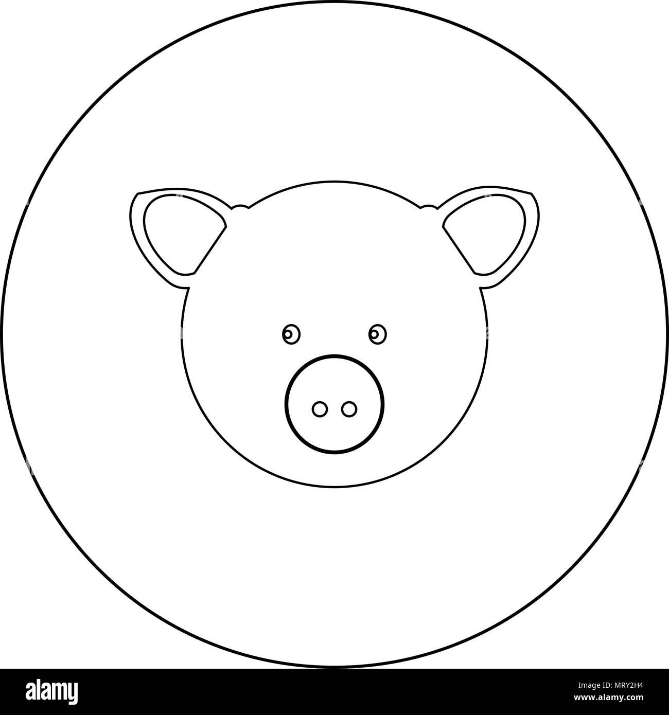 Ungewöhnlich Schweinekopf Anatomie Zeitgenössisch - Anatomie Von ...