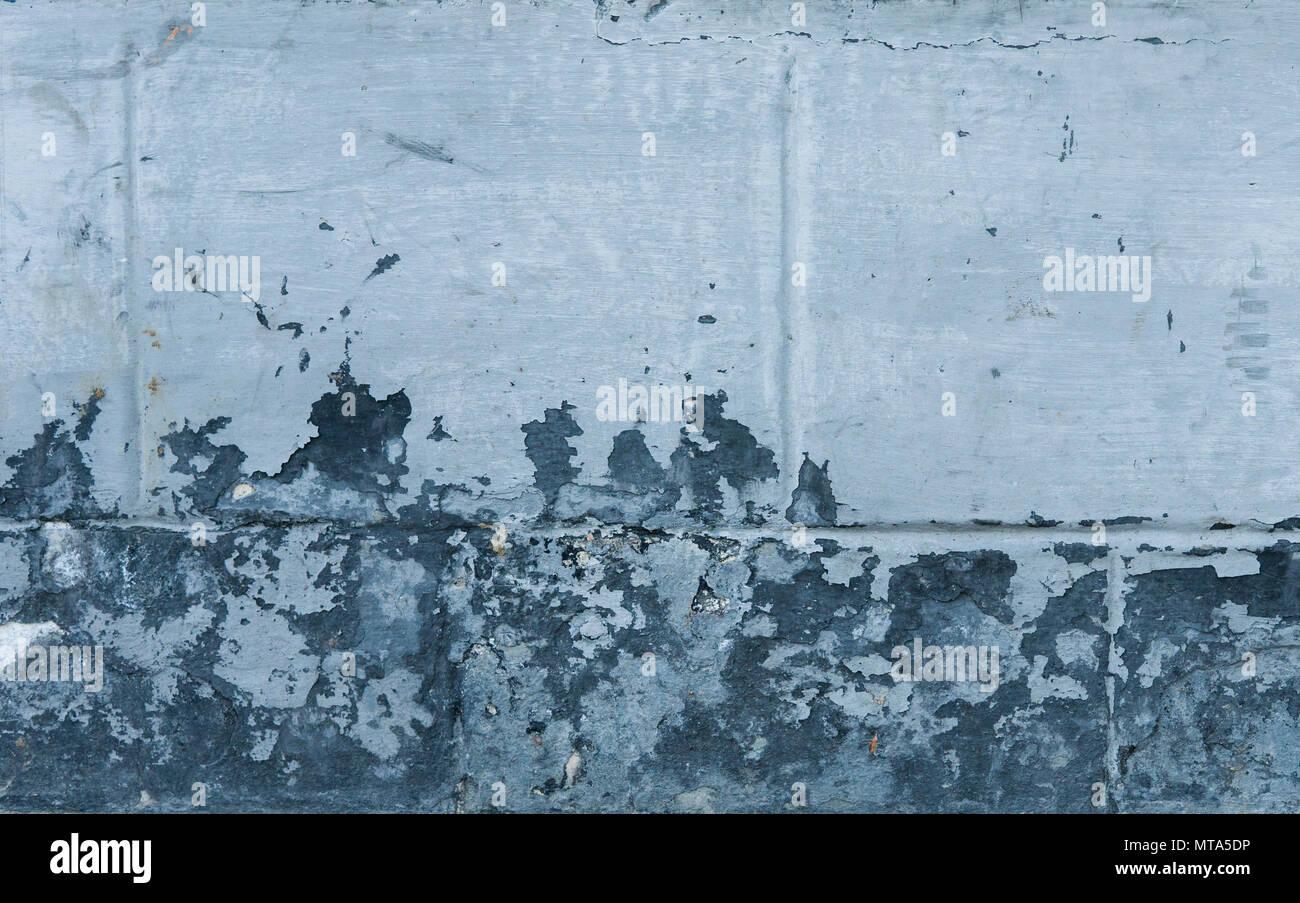 blau betonwand grunge textur mit rissen risse schrammen peeling alte farbe und putz auf dem. Black Bedroom Furniture Sets. Home Design Ideas