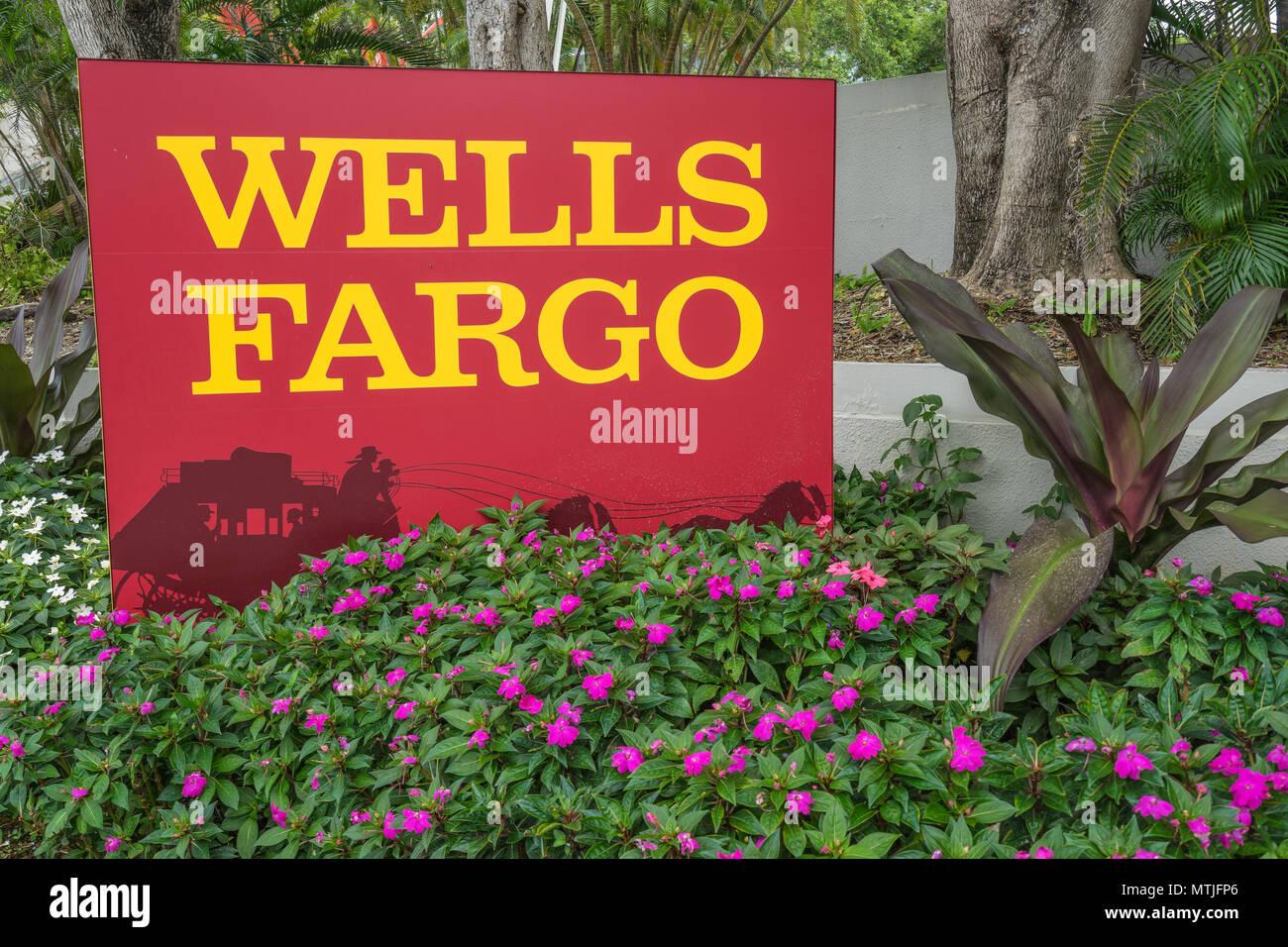 Wells Fargo Financial Services Stockbild