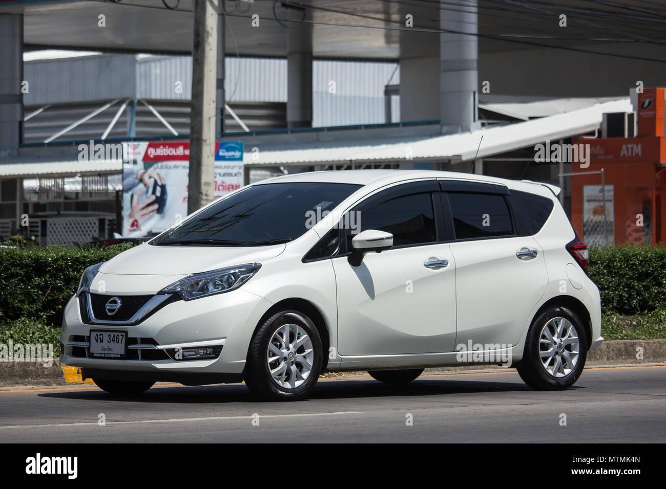 chiang mai, thailand - 21. mai 2018: private neue eco auto nissan