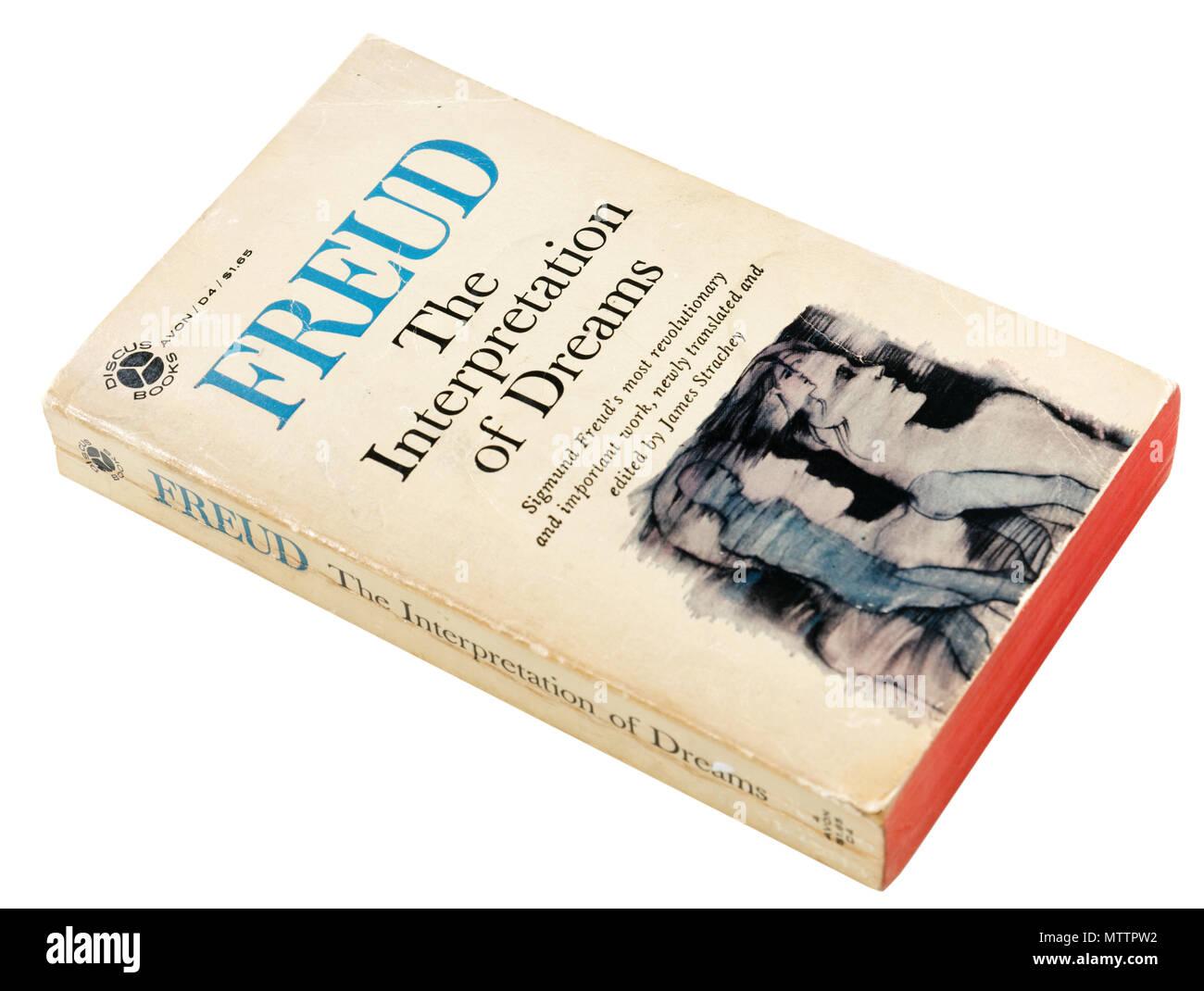 Die Bedeutung der Träume von Sigmund Freud Stockbild