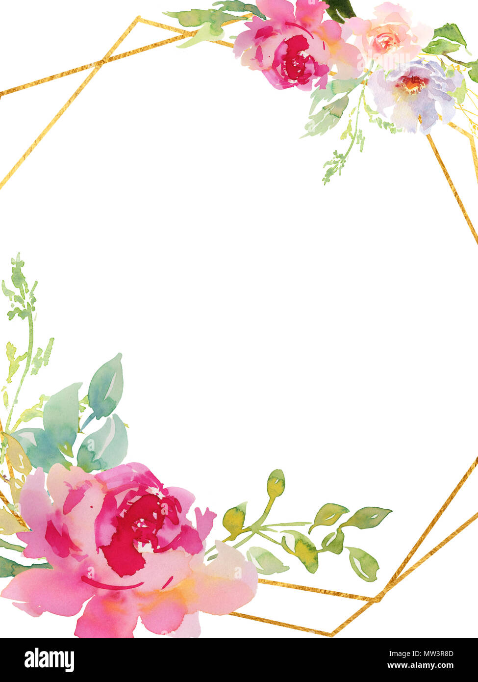 Hochzeit frame kranz gr n und lila blumen ornament for Lila und grun kombinieren