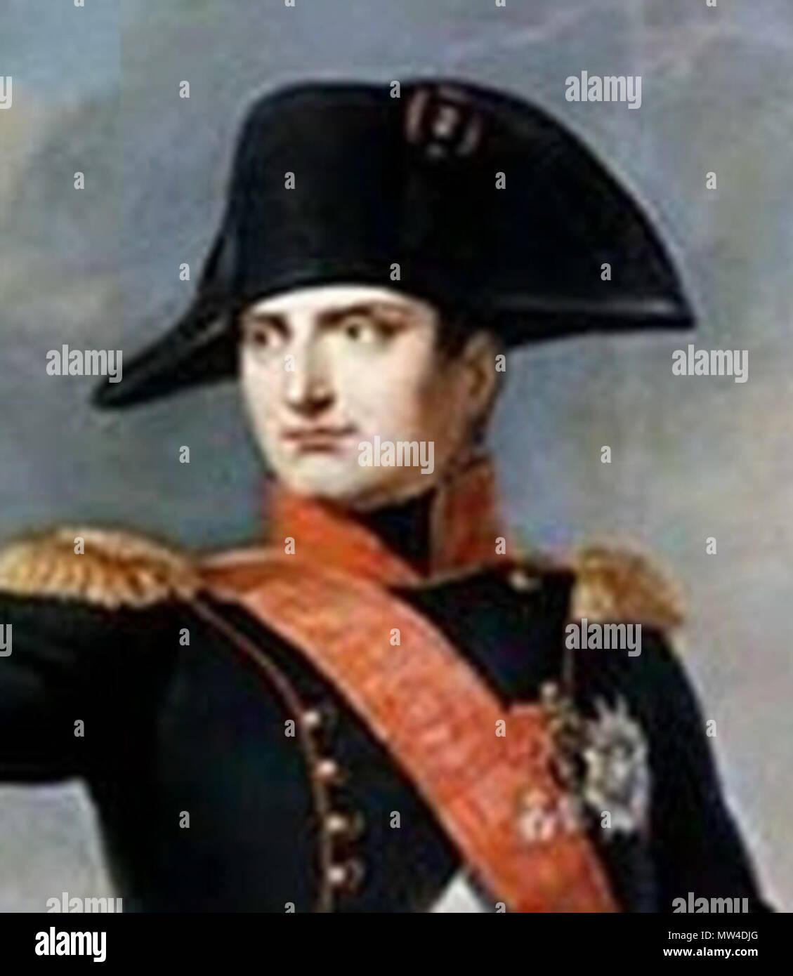 Englisch: Napoleon Bonaparte Italiano: L'Imperatore Napoleone ICH. 19. 352  L'Imperatore Napoleone Stockfotografie - Alamy