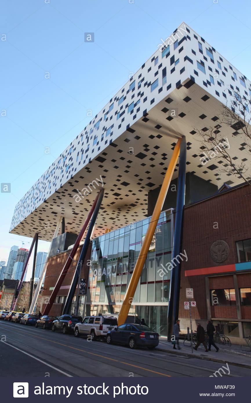 Hochschule Fã¼R Design | Die Scharfe Zentrum Fur Design In Der Innenstadt Von Toronto