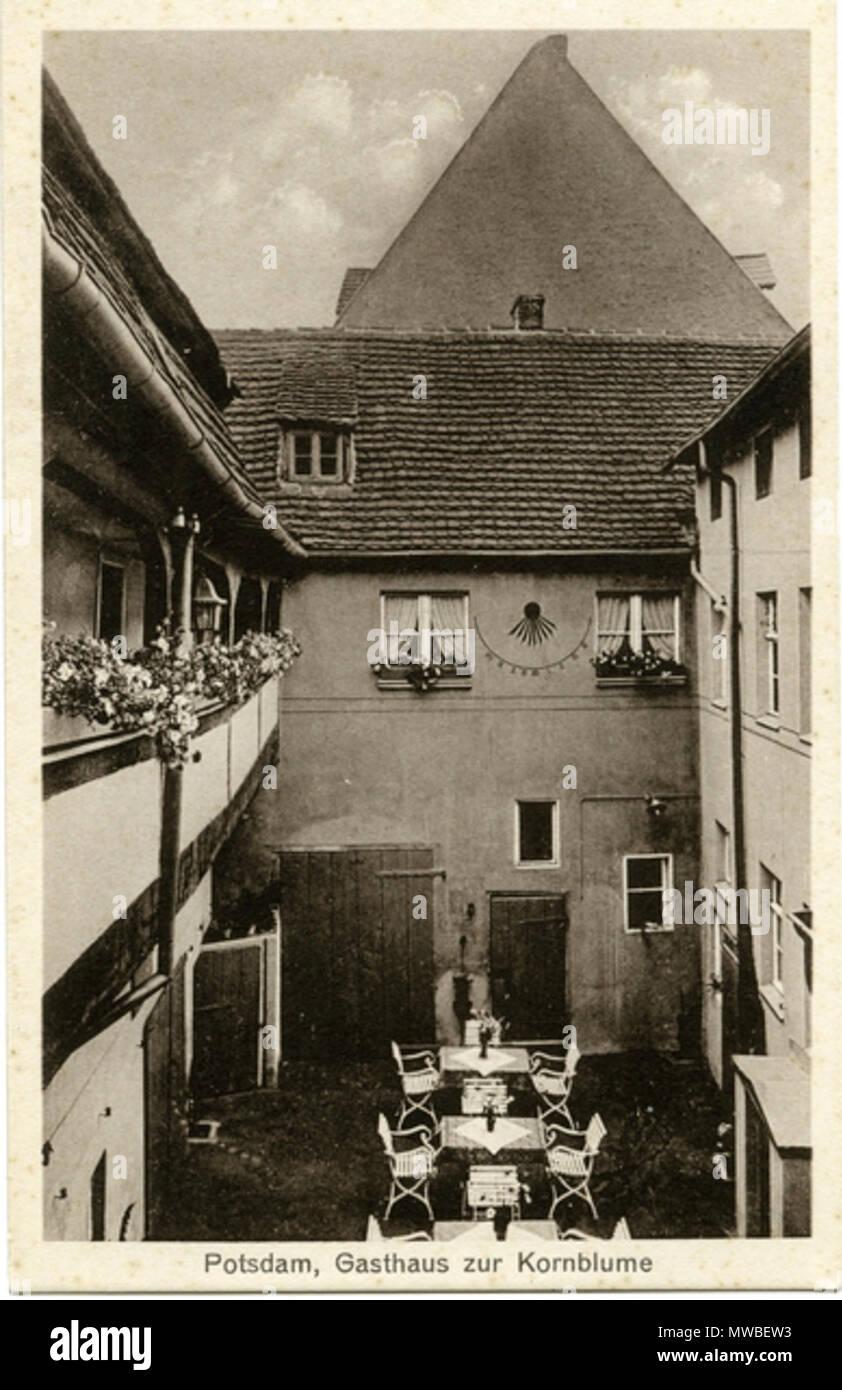English Gasthaus Zur Kornblume Innenhof 17 Mai 2015 Foto U