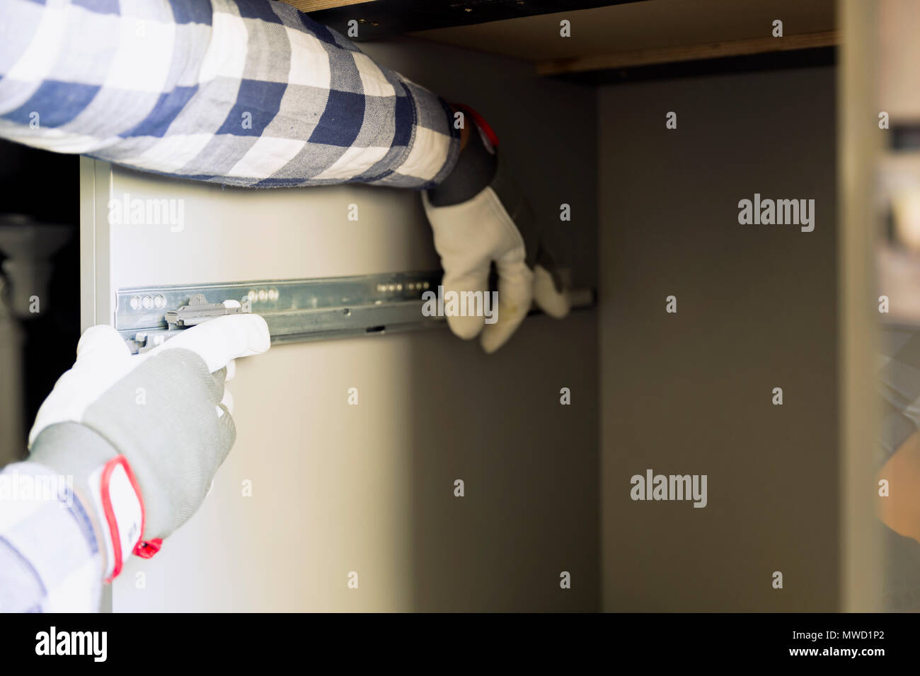 Remodeling Kitchen Stockfotos & Remodeling Kitchen Bilder - Alamy