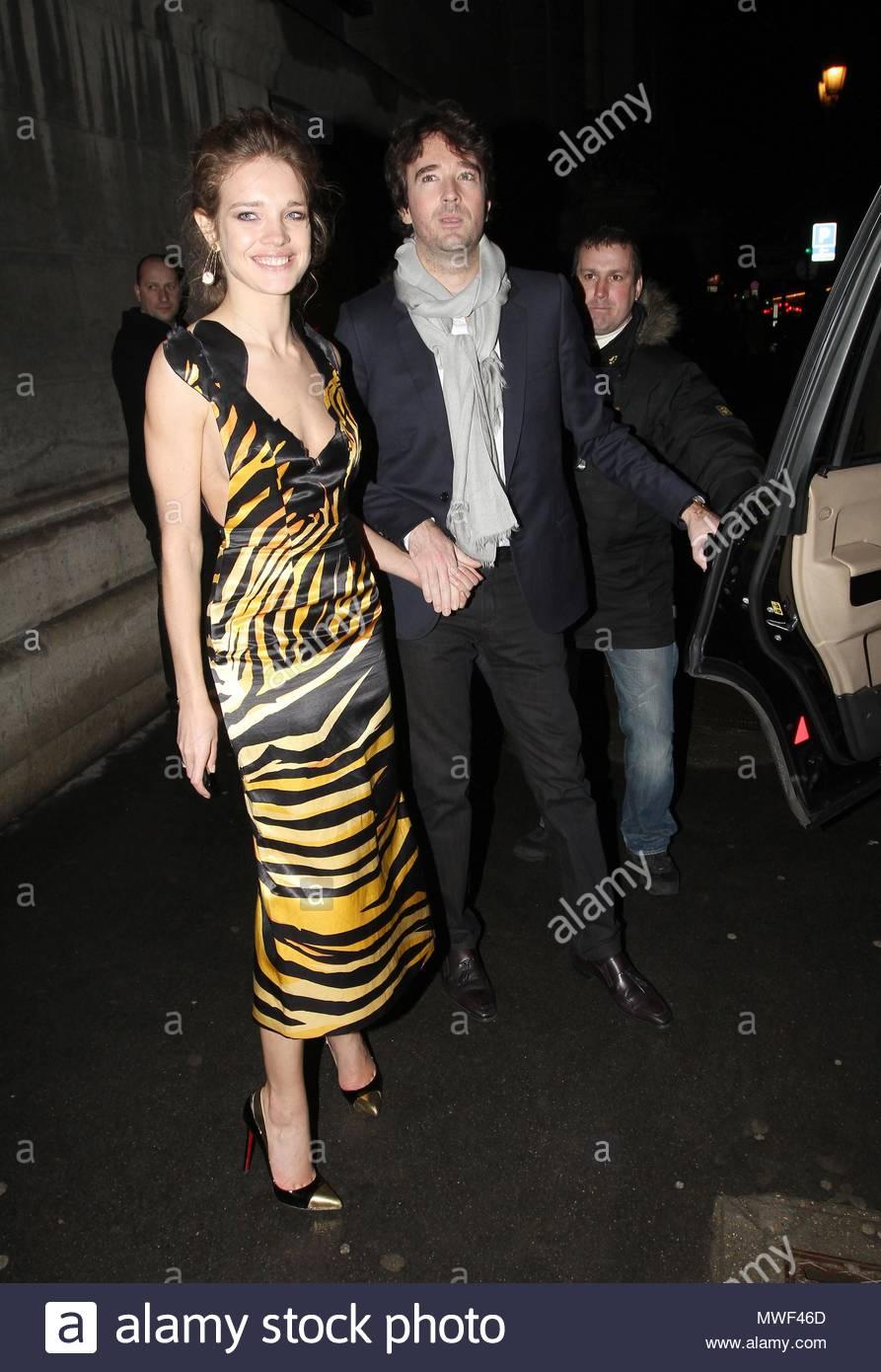 Antoine Arnault und Natalia Vodianova. \