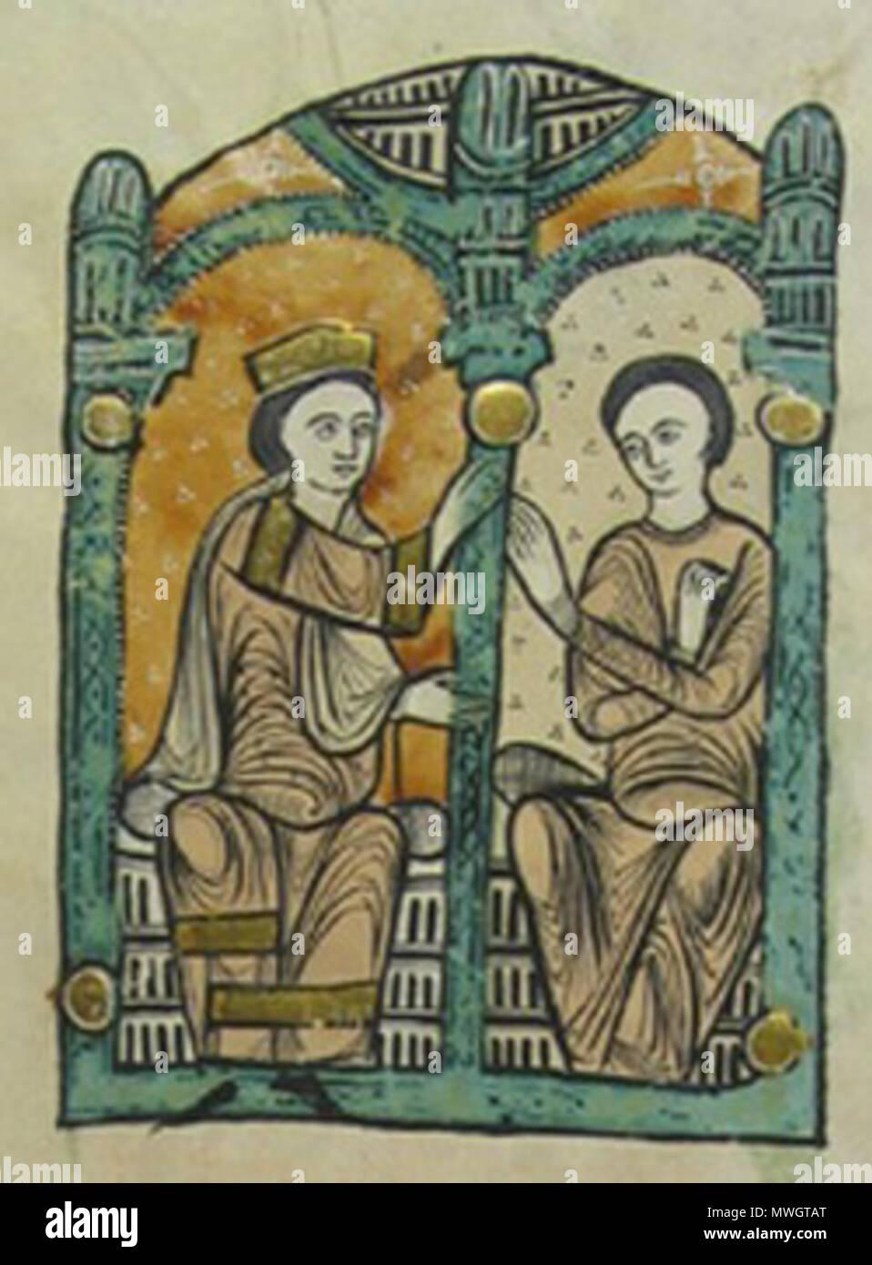 Englisch: Liber Feudorum Maior - Miniatur illustrieren den