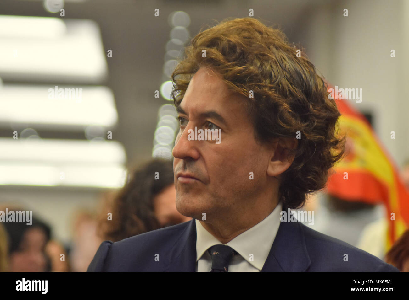 Der Unternehmer álvaro De Marichalar D Nimmt An Der Veranstaltung